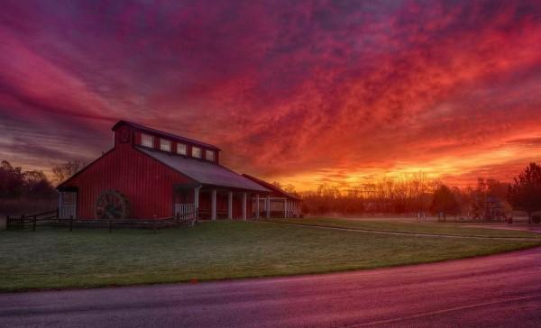 And wake up to a stunning sunrise.