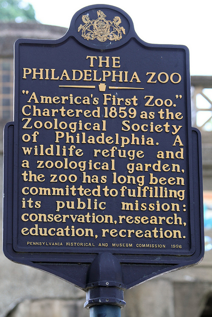 10. Pennsylvania is home to the first zoo, among other things...