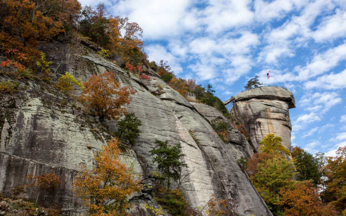 19. Since we're in the mountains, take a drive to Chimney Rock State Park, one of the filming locations for the movie The Last of the Mohicans.