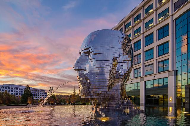 "20. ""Metalmorphosis Statue Charlotte"" by Alex G."