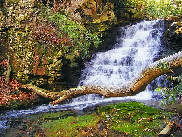 1) Rattlesnake Falls, Barret Township