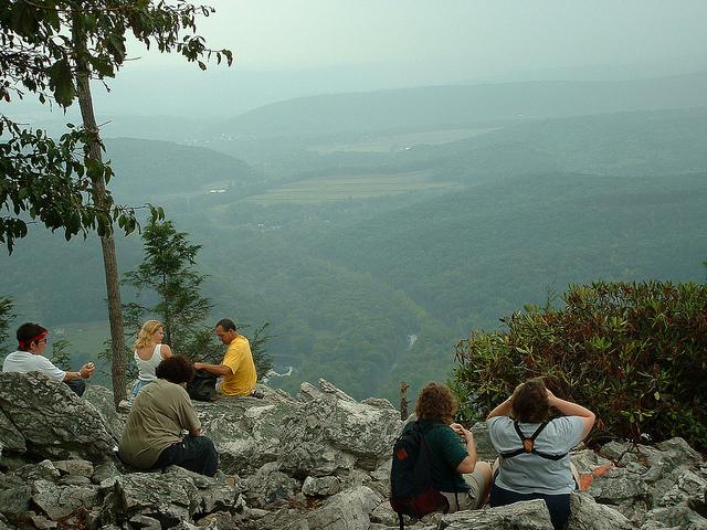 1. Hawk Mountain Sanctuary, Albany Township