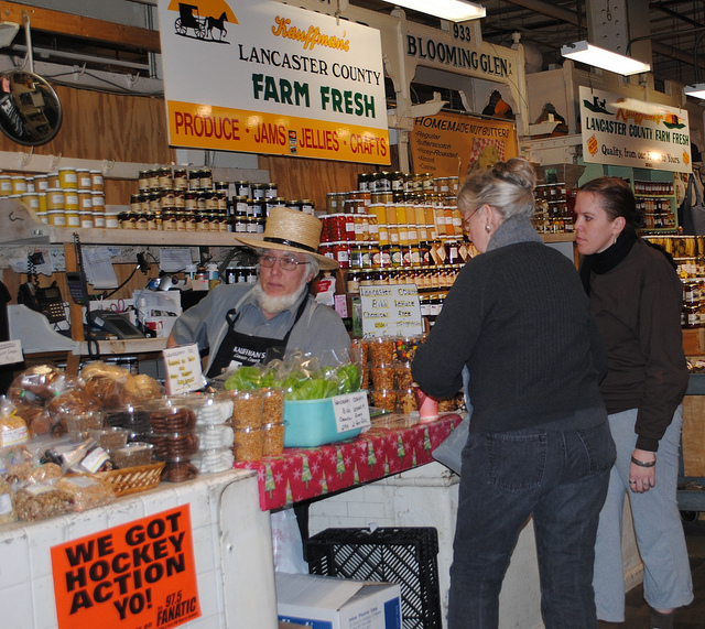 12. There are farmer's markets everywhere.