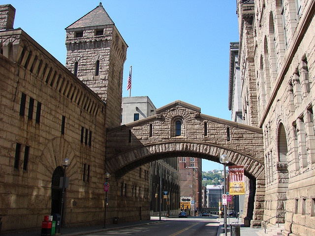 13. The Allegheny County Courthouse & Jail, Pittsburgh