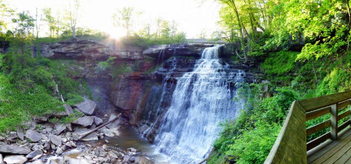 1) Brandywine Falls