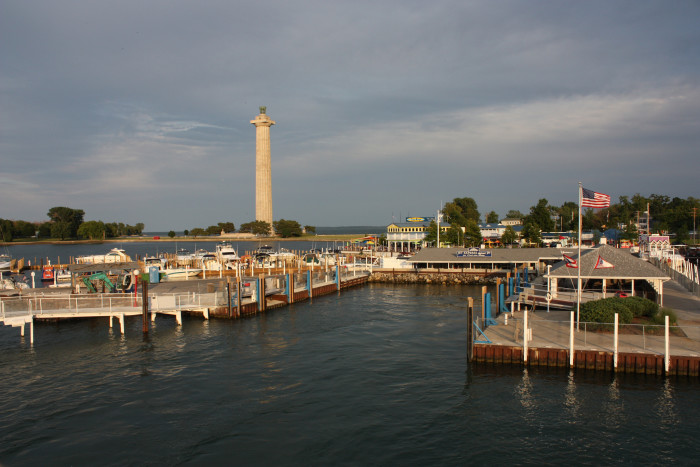 17) Put-in-Bay: Ohio has island life too.