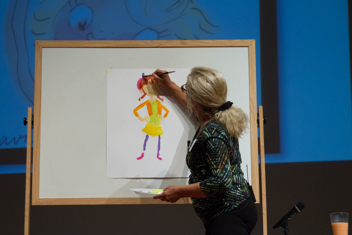8) Learn to create your own children's book art.
