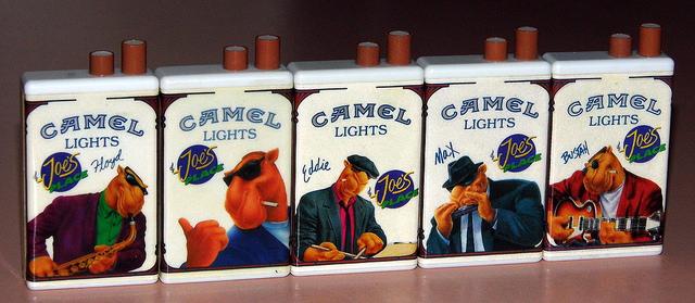 21. You still see Joe Camel everywhere