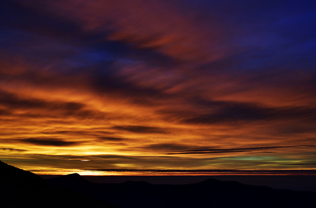 """14. """"Craggy Pinnacle Sunrise"""" by Jeff Sents"""