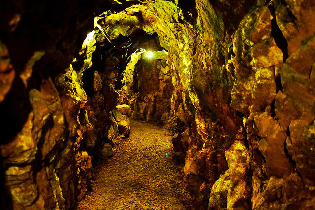 7. The Reed Gold Mine, outside of Concord, is the only underground gold mine open to the public. It is also said to be the location of the 'first documented  commercial gold find in America.'