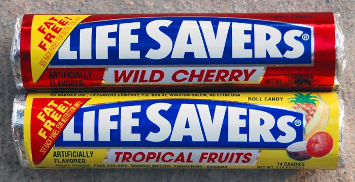 12) Life Savers