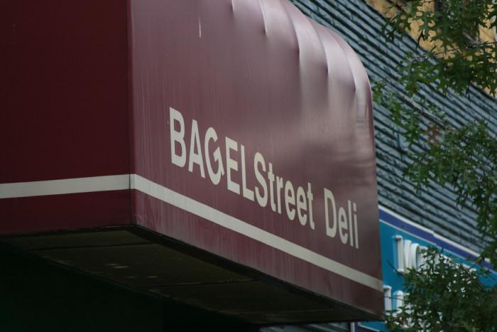 12) Bagel Street Deli