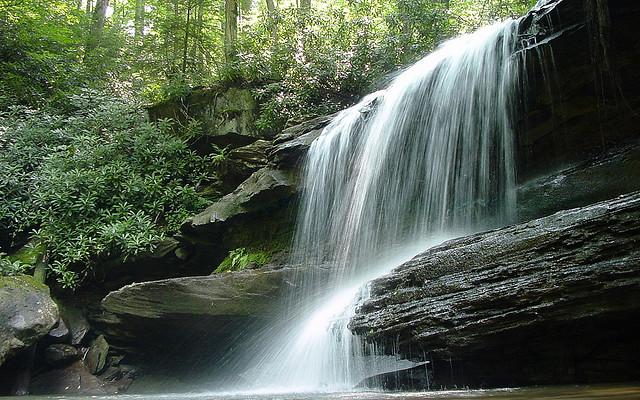 19) Jonathan's Run Falls, Ohiopyle State Park