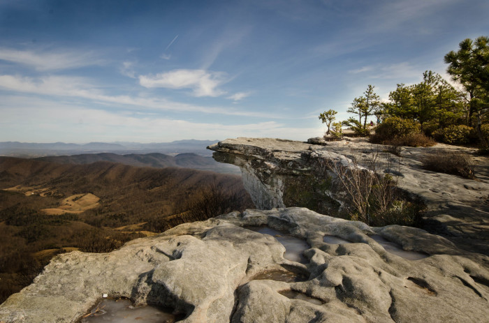 1. McAfee Knob, Roanoke County, Virginia