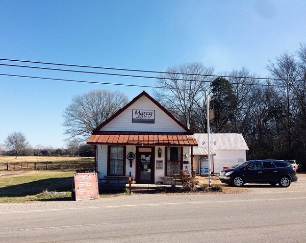 13) Find a diner. The south is nothing if not known for its food, and if you're not feeling the Loveless Cafe? Then take a meandering drive to Marcy Jo's in Pottsville.