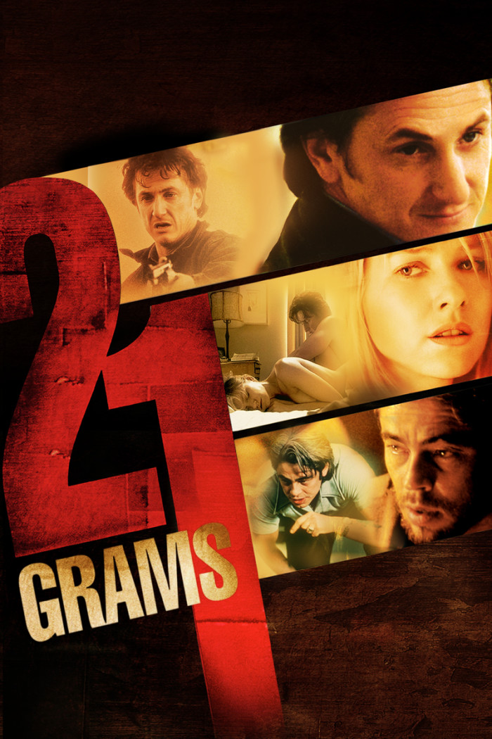 """The creepy thriller, """"21 Grams""""  was filmed in part within the city of blues, Memphis."""