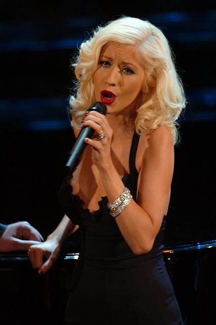 2) Christina Aguilera