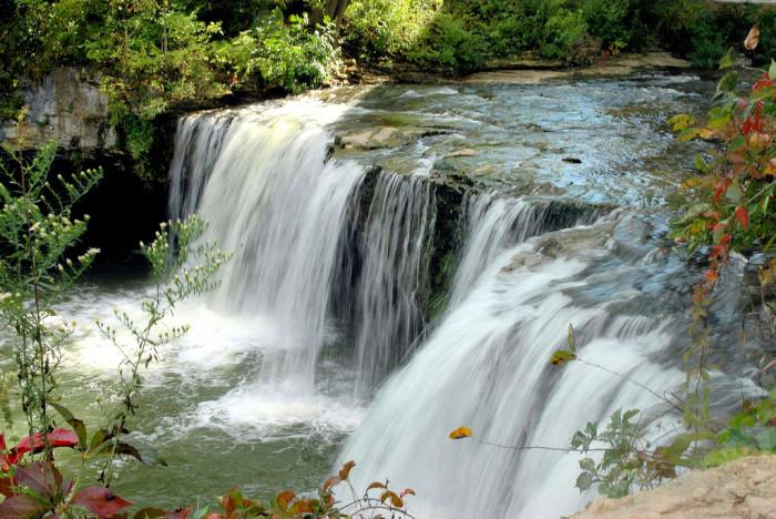 8) Ludlow Falls