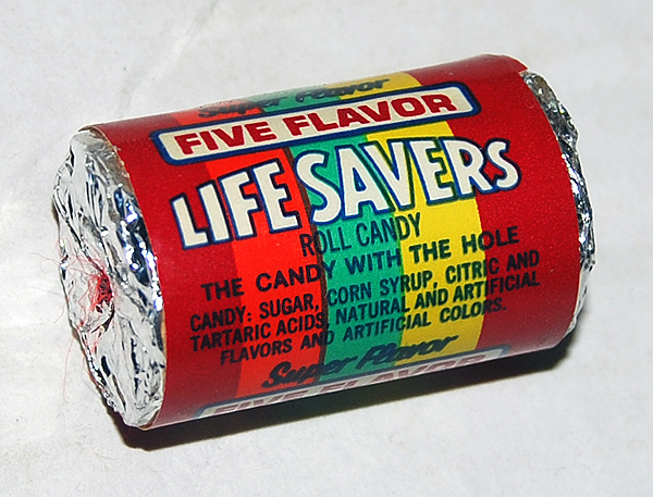 18) Whenever you're in need of a Life Saver.