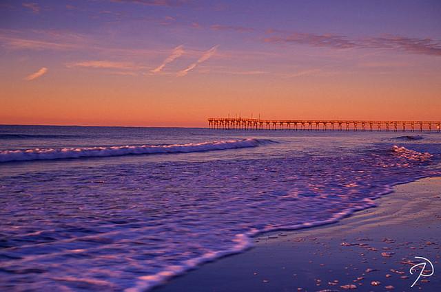 "8. ""Sunrise, Sunset Beach"" by Jim Dollar"