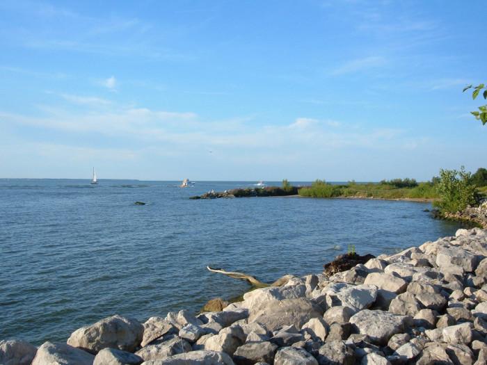 12) Lake Erie