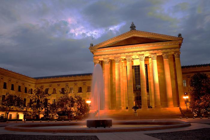 2. The Philadelphia Art Museum
