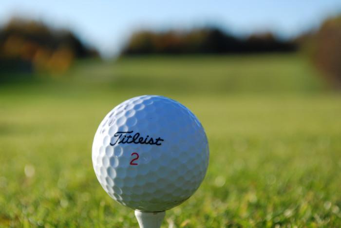 14) Golf ball