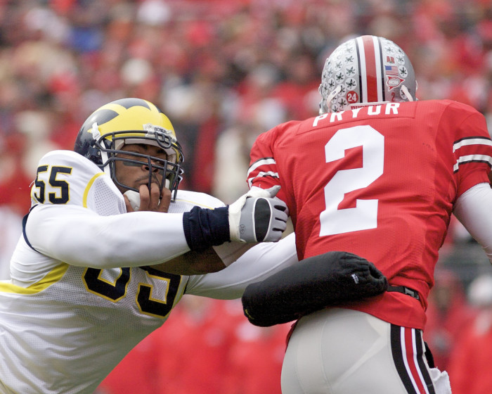 5) Anytime the Ohio State Buckeyes beat the Michigan Wolverines.