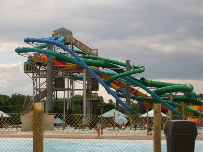 2) Water parks