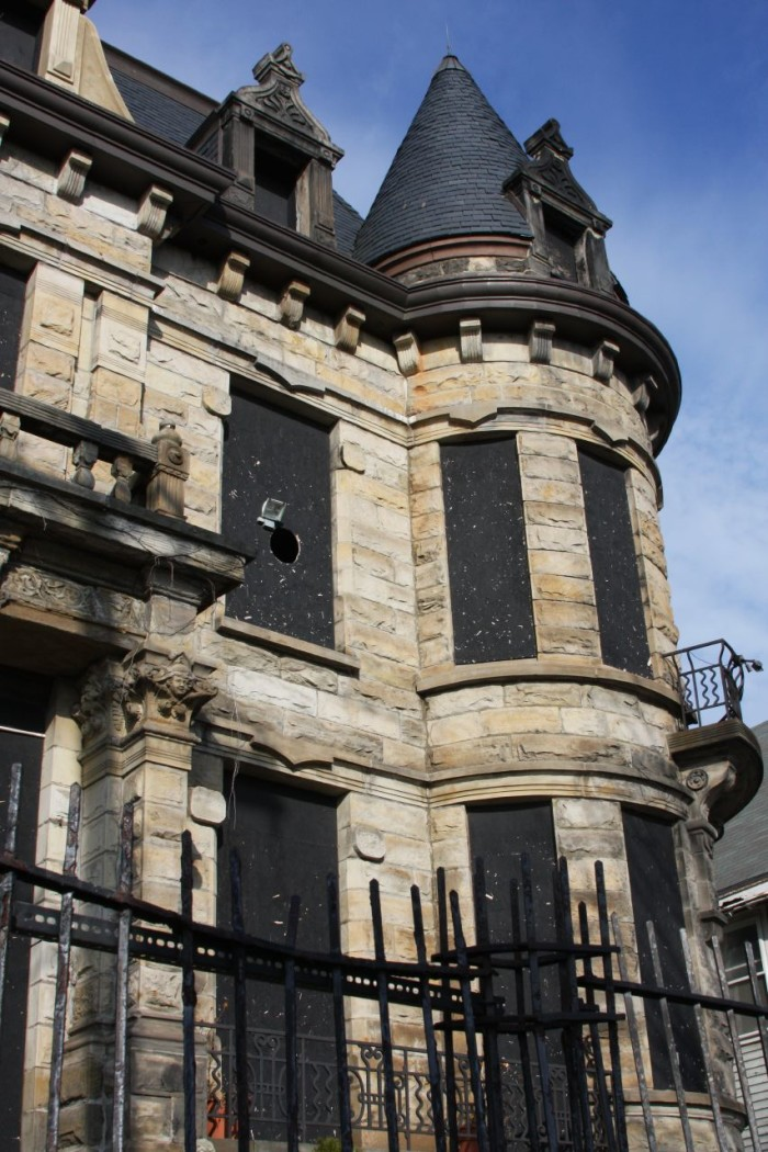 8) Franklin Castle: Cleveland is home to this historic home, which features four stories and more than 20 rooms. (Before venturing here you should probably know that it's considered to be the most haunted house in Ohio. Just a little FYI.)