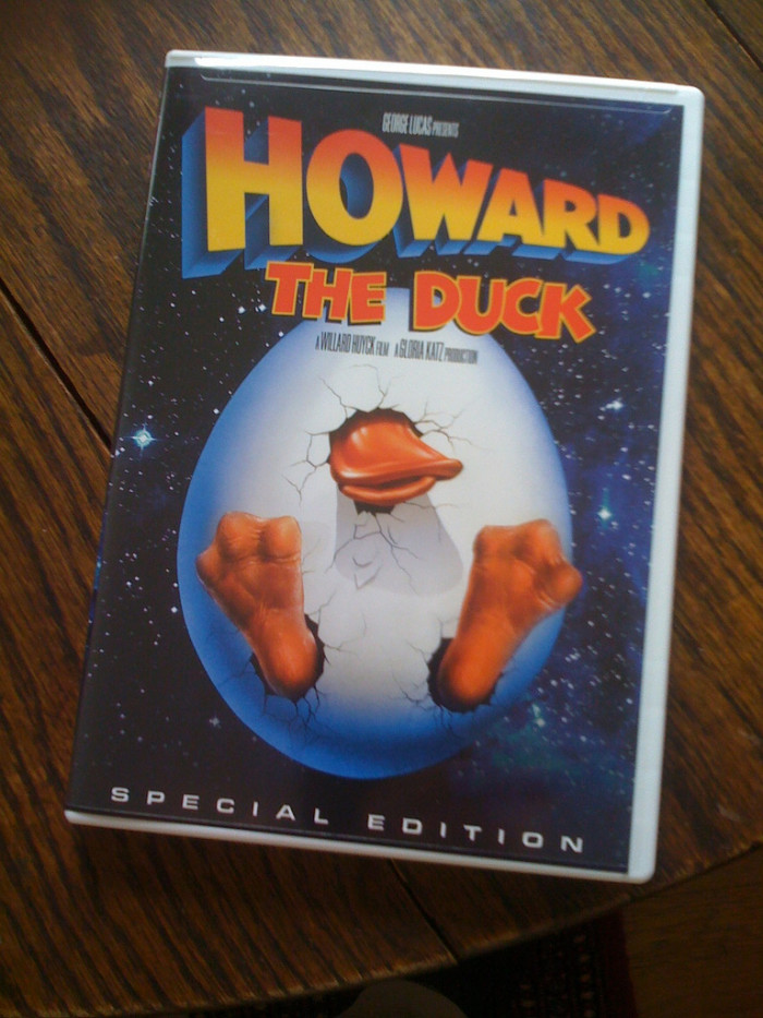 10) Howard the Duck: This science fiction comedy was shot throughout California, making one stop outside the state in...yes, CLEVELAND, Ohio.