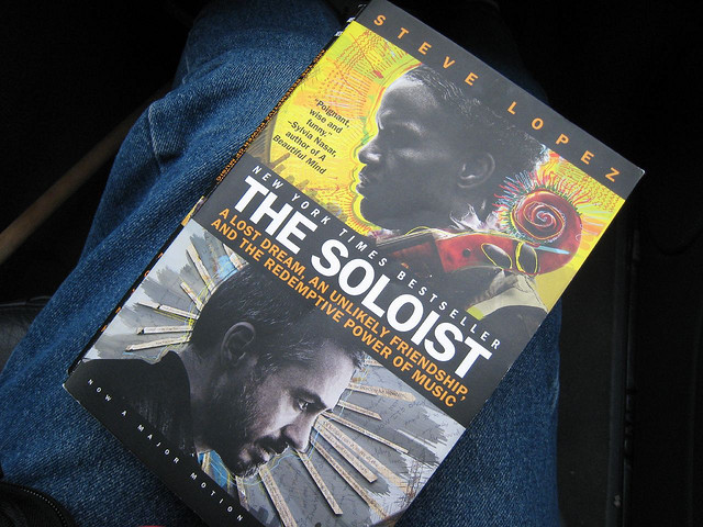 """9) The Soloist: Although this movie was primarily filmed in California, the only other state """"The Soloist"""" was shot in was Ohio...in Cleveland, of course."""