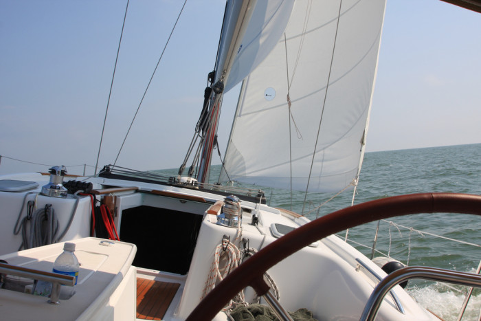 5) Learn to sail.