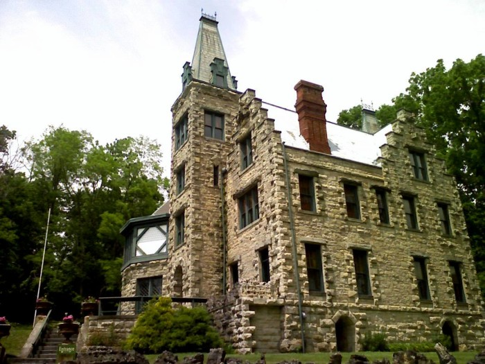 2) Piatt Castles: Located in Logan County are two chateaux style castles with Gothic design. This private, family-owned museum features more than 200 years of Ohio history.