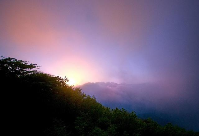 "2. ""Smokey Mountains Sunrise"" by Bob Jagendorf"
