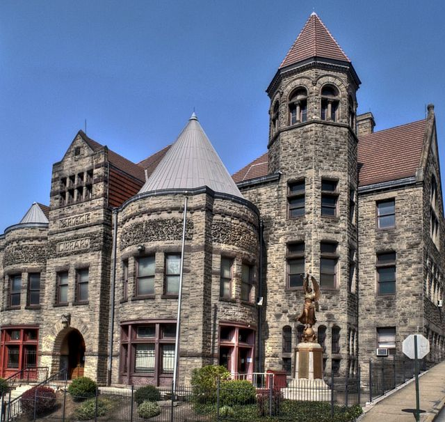 4. Braddock Carnegie Library, Allegheny County