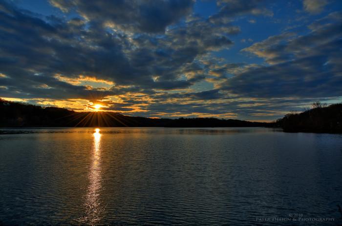 8) Hocking Hills (Lake Logan)