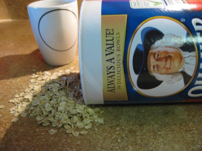 15) Quaker Oatmeal