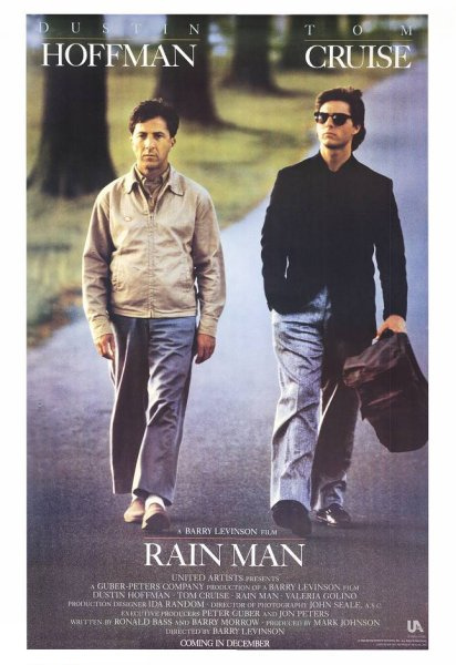 5) Rain Man: This 80s film was based in Cincinnati for a month, before production crews traveled across the United States to shoot this movie.