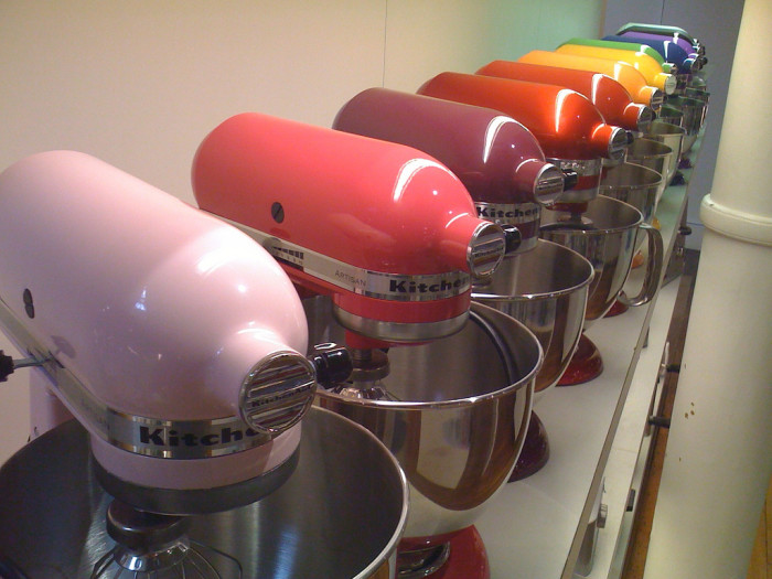 7) Have the KitchenAid experience.