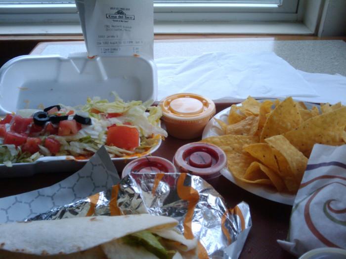 11) Casa Del Taco