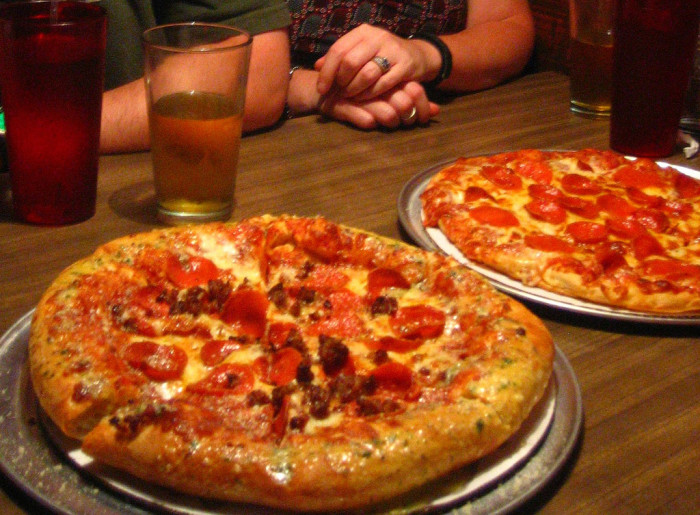 6) Hounddog's Three Degree Pizza