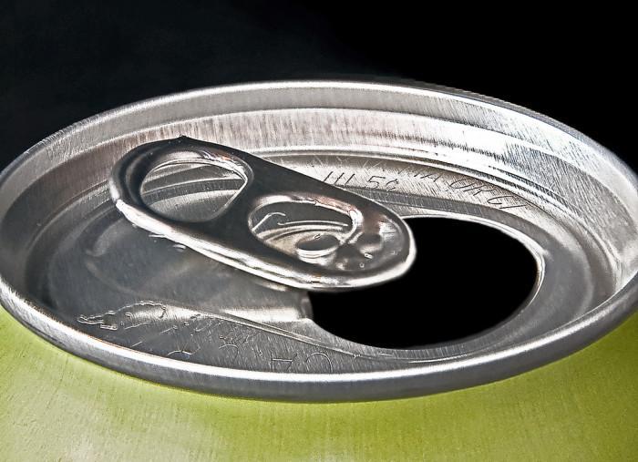 7) Pop-top can