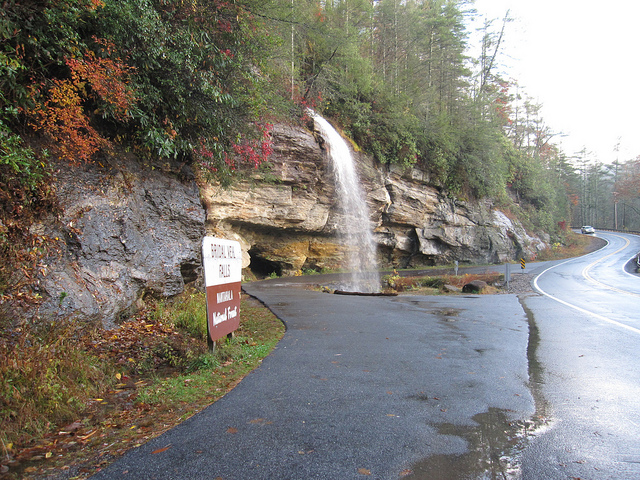 13. Bridal Veil Falls, Highlands