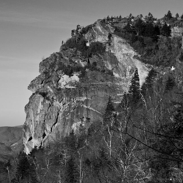 1. Grandfather's Profile, Grandfather Mountain