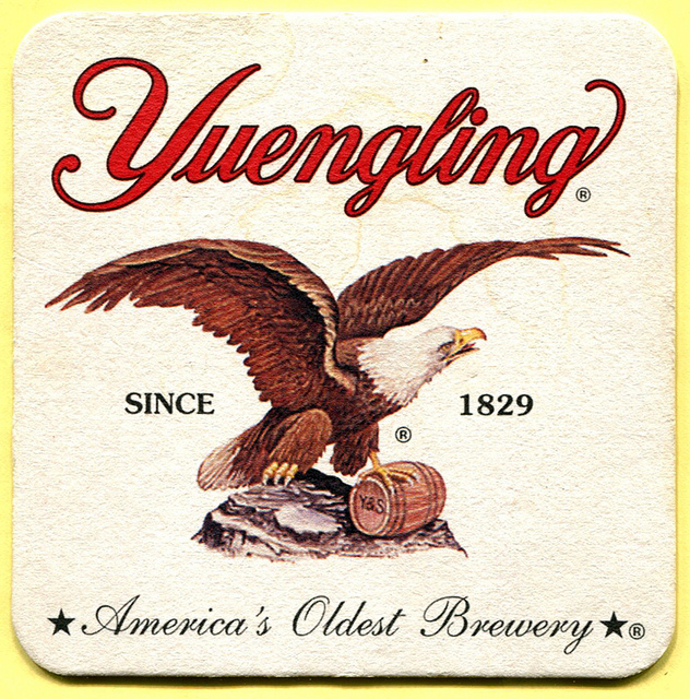 8) Yuengling, America's oldest brewery, is located in Pottsville, PA.