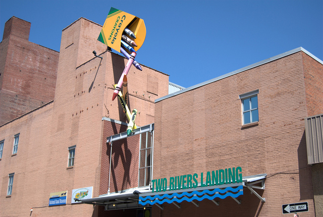 6. Bethlehem is home to the Crayola Factory.