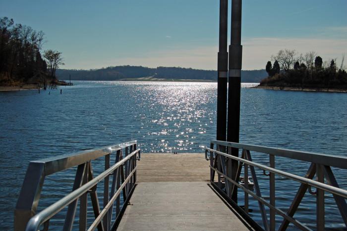 9) East Fork Lake