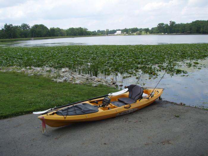 8) Kiser Lake