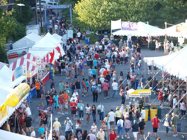 7. Musikfest is held in Bethlehem every summer.